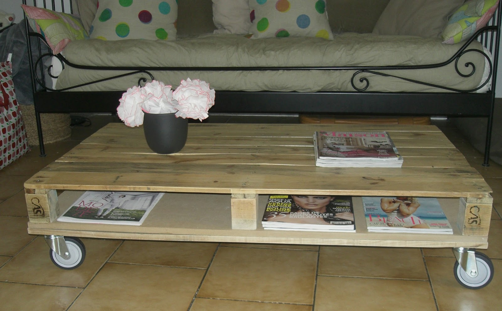 Table Basse Palette Tuto Mobilier Design D Coration D Int Rieur # Meuble Tv En Palette Europe