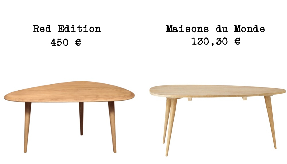 Table basse tripode pas cher mobilier design d coration - Table basse en bois pas cher ...