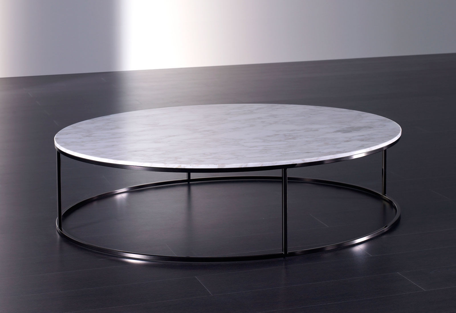 Table basse ronde en marbre mobilier design d coration - Table ronde en marbre ...