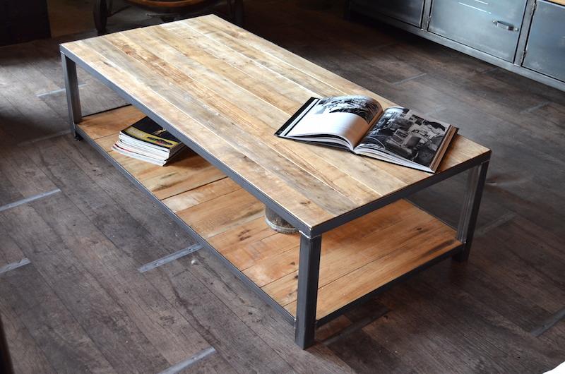 table basse industrielle belgique mobilier design d coration d 39 int rieur. Black Bedroom Furniture Sets. Home Design Ideas