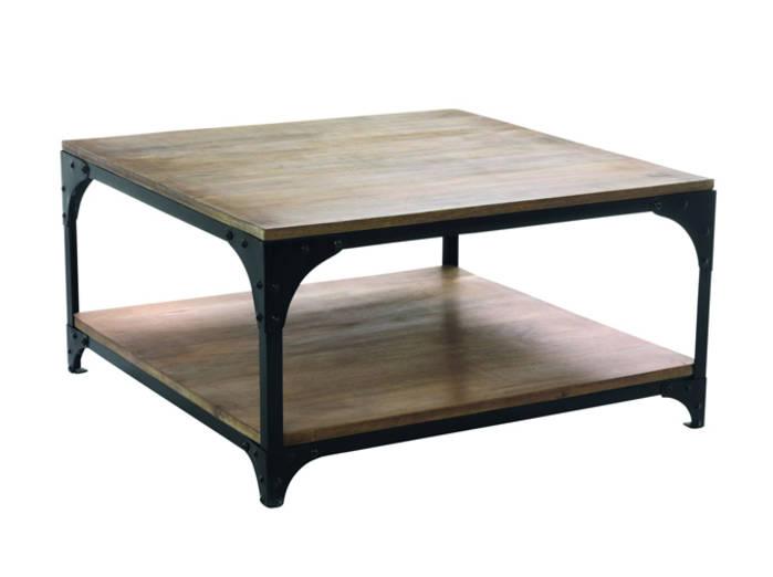 Table basse rotin alinea