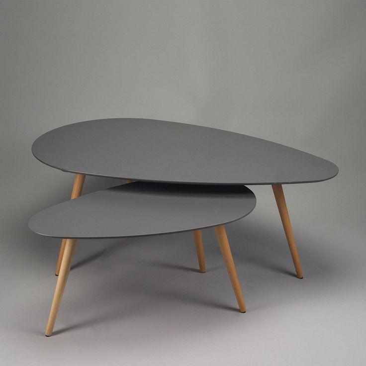 table basse gigogne contemporaine mobilier design. Black Bedroom Furniture Sets. Home Design Ideas