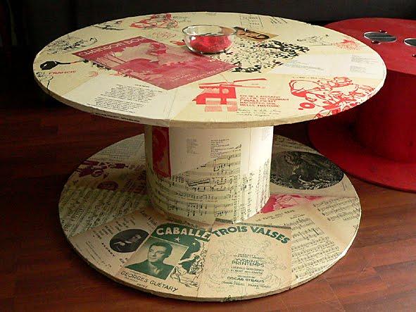 Table basse ronde fait maison mobilier design d coration d 39 int rieur - Table basse fait maison ...