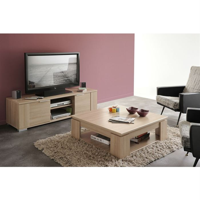 Meuble tv table basse pas cher mobilier design d coration d 39 int rieur - Ensemble table basse meuble tv pas cher ...
