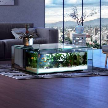Table basse aquarium truffaut