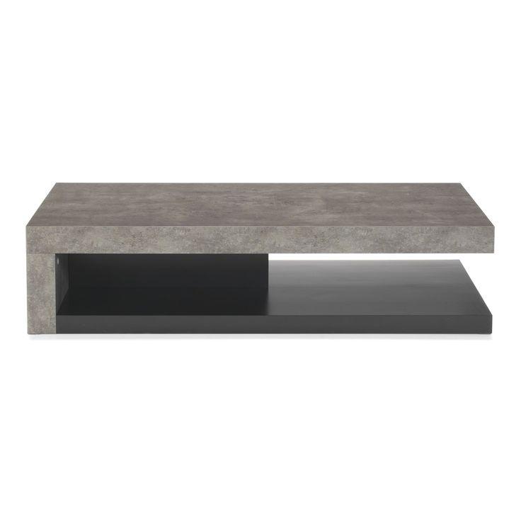 Table basse alinea beton