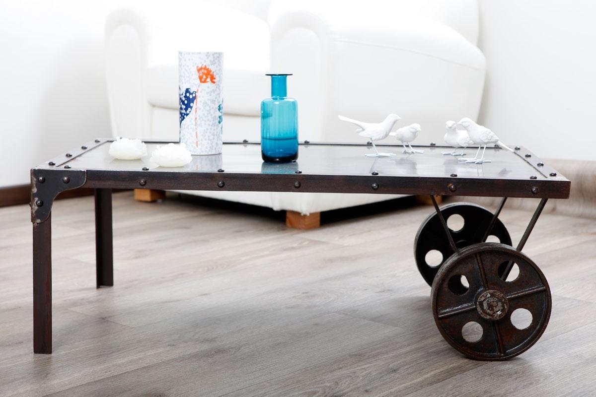 table basse industrielle fly mobilier design d coration d 39 int rieur. Black Bedroom Furniture Sets. Home Design Ideas