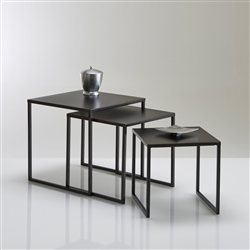 Table basse gigogne conforama table basse carre en verre - Table basse industrielle conforama ...