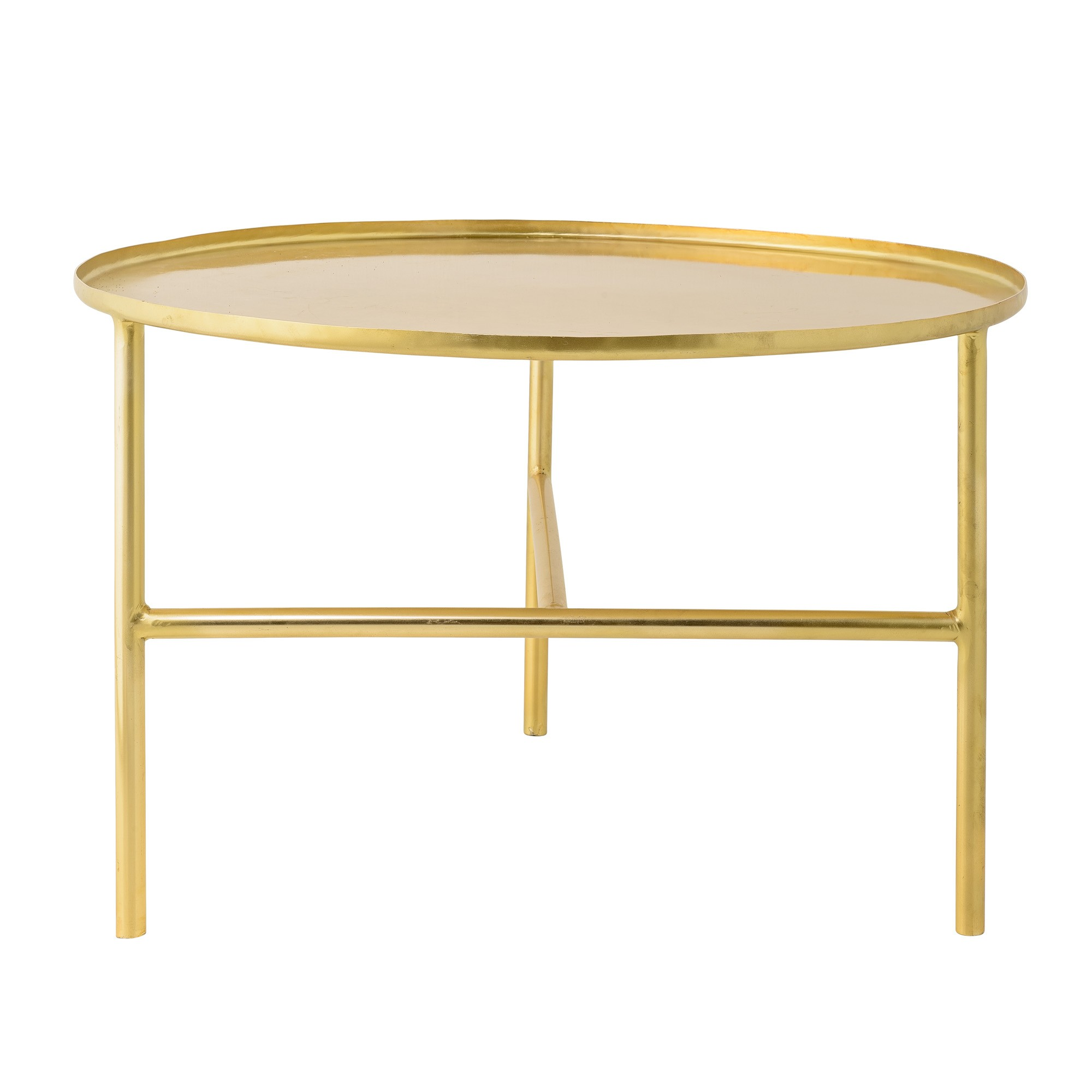 Table basse ronde en aluminium Mobilier design décoration d