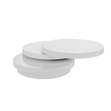 Table basse fly 3 plateaux