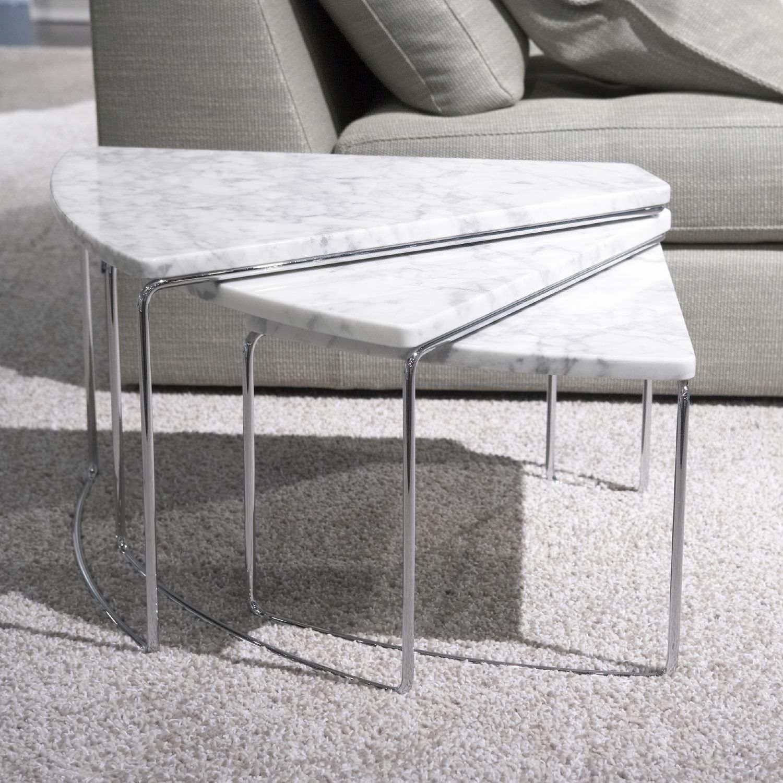 Table basse fly marbre mobilier design d coration d for Mobilier fly