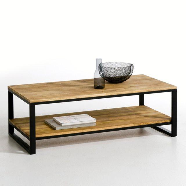table basse industrielle la redoute mobilier design d coration d 39 int rieur. Black Bedroom Furniture Sets. Home Design Ideas
