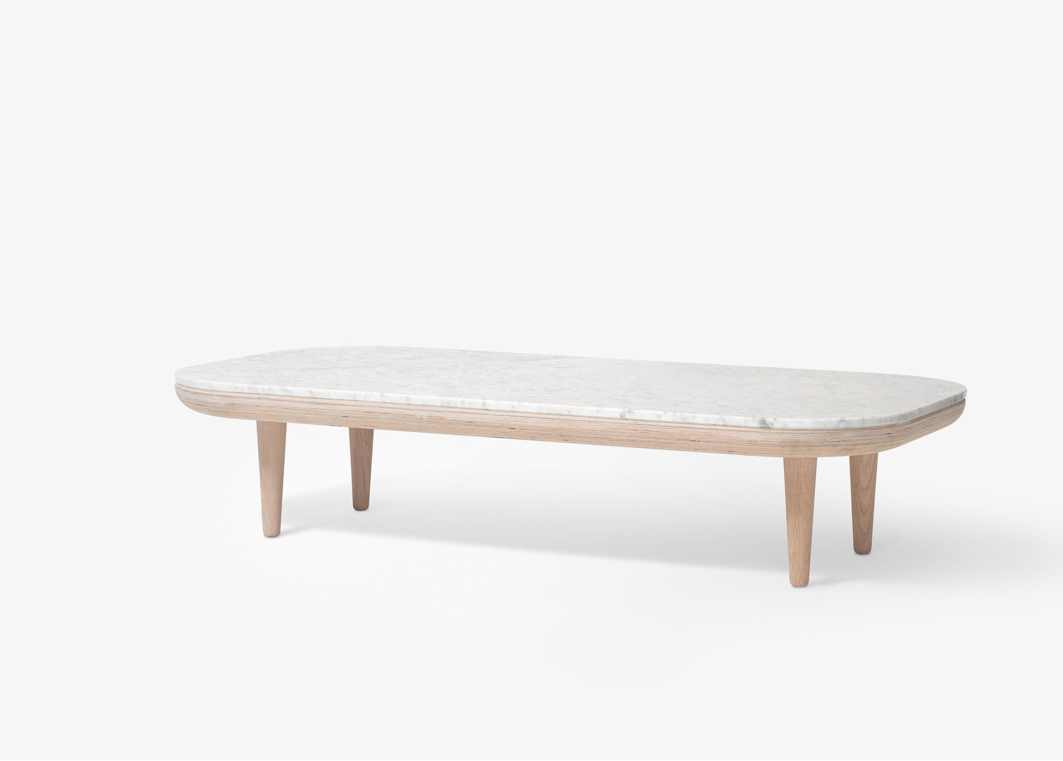 Table basse bois et fer fly