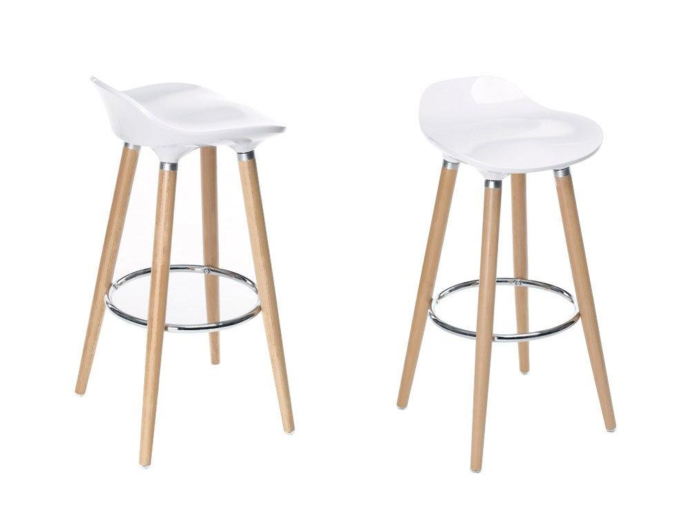 tabouret de bar oslo blanc mobilier design d coration d 39 int rieur. Black Bedroom Furniture Sets. Home Design Ideas