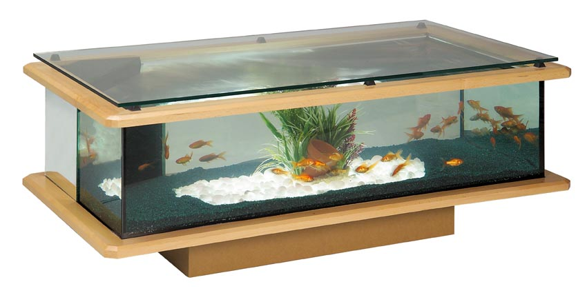 Table basse aquarium verre mobilier design d coration d for Aquarium en solde