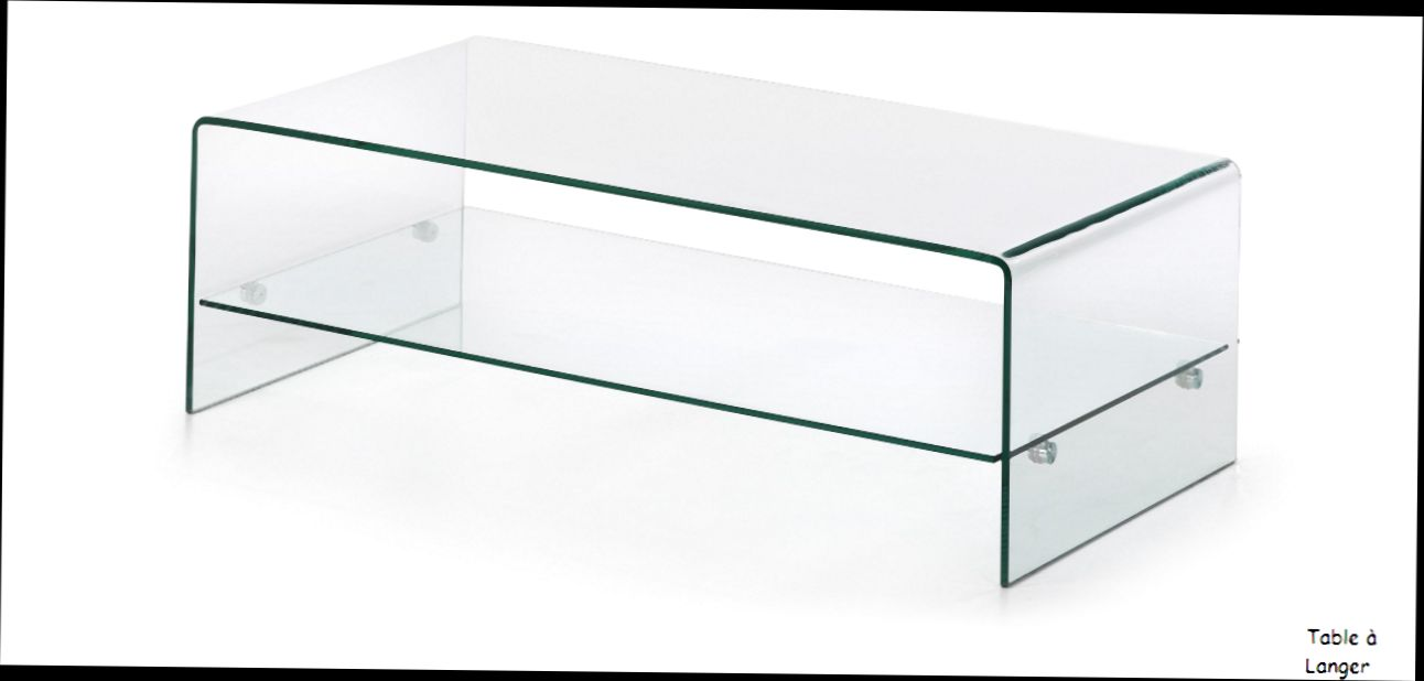 Table basse en verre chez but