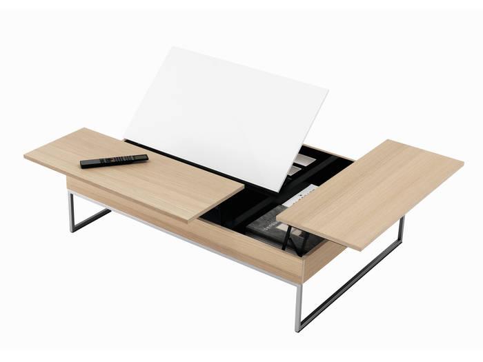 Table basse en verre bo concept