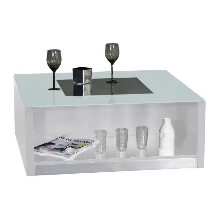 Gifi table basse affordable table cuisine avec banquette for Table basse rubis