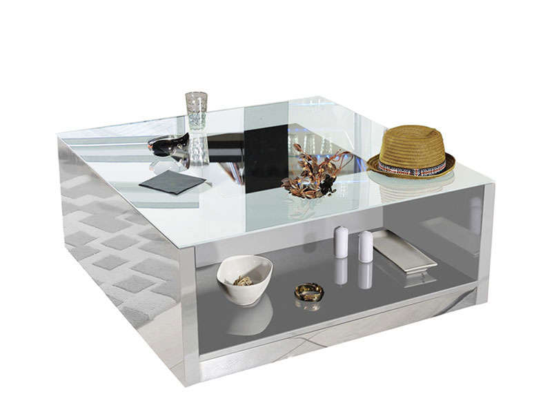 Table basse salon alin a mobilier design d coration d - Alinea salon ...