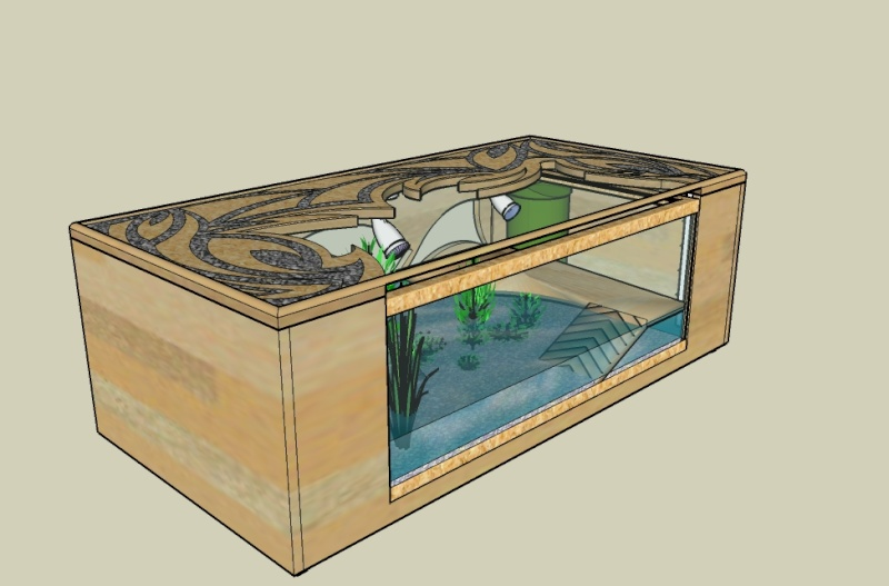 faire une table basse avec un aquarium mobilier design d coration d 39 int rieur. Black Bedroom Furniture Sets. Home Design Ideas