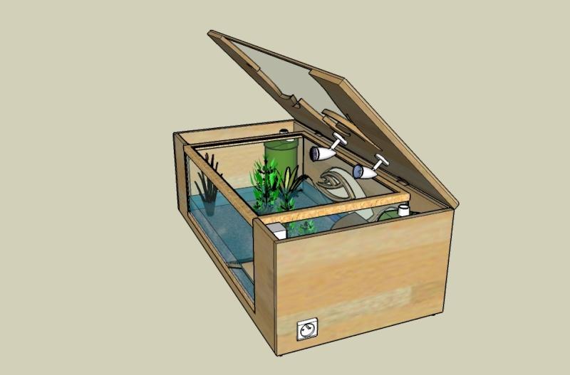 Comment realiser une table basse aquarium - Mobilier design ...