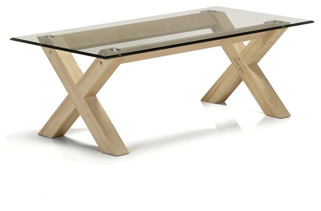 Table basse alinea verre