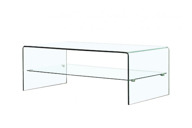 Table basse en verre so design mobilier design - Table italienne en verre ...