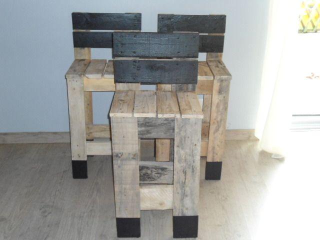 Construire Un Tabouret De Bar En Bois - Mobilier Design, Décoration
