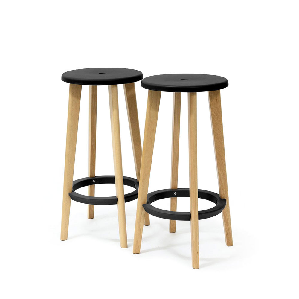 tabouret de bar en bois pas cher mobilier design. Black Bedroom Furniture Sets. Home Design Ideas