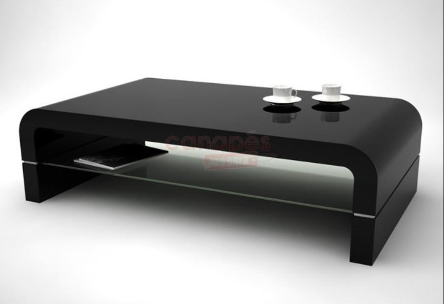 table basse ronde noire laqu e mobilier design d coration d 39 int rieur. Black Bedroom Furniture Sets. Home Design Ideas