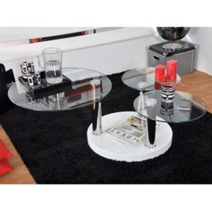 Table basse ronde game