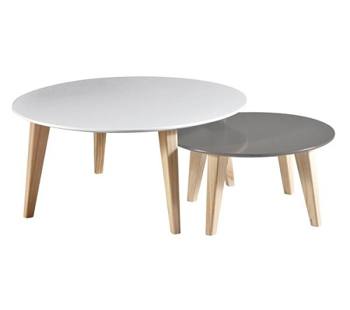 Table basse gigogne carrefour