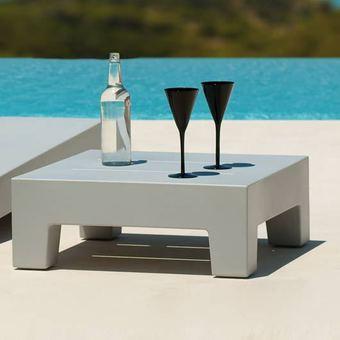 Table basse ronde plastique jardin - Mobilier design ...