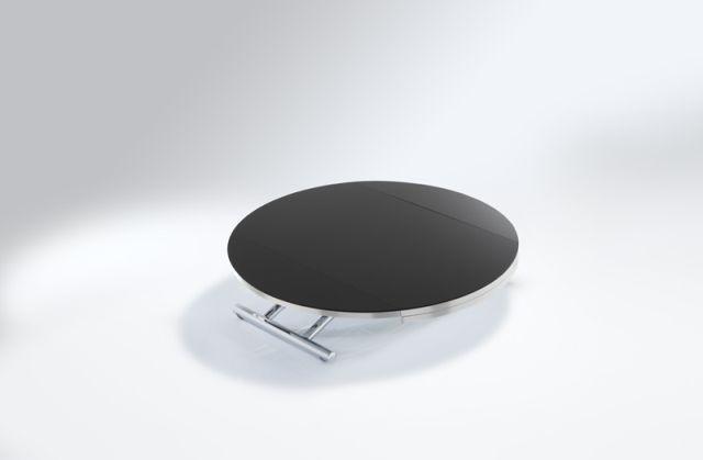 Table basse ronde weng mobilier design d coration d 39 int rieur - Table basse ronde wenge ...