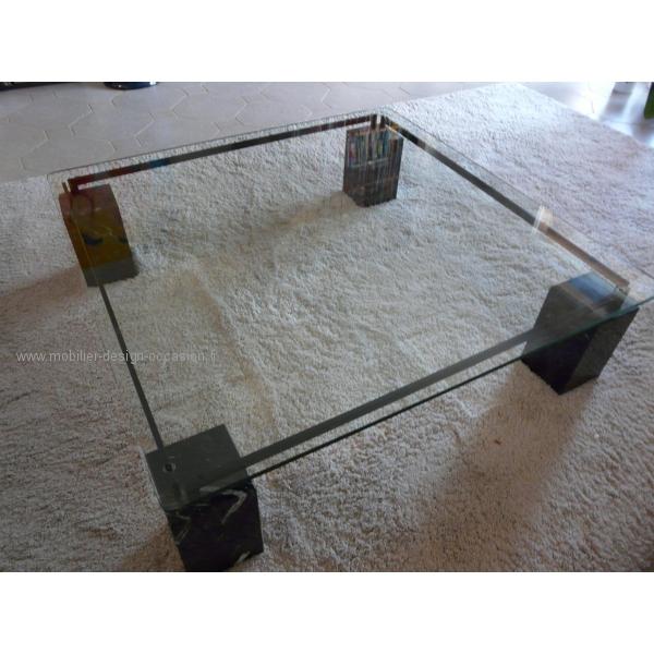 table basse en verre fleur - mobilier design, décoration d'intérieur