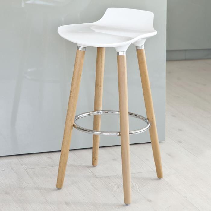 Tabouret de cuisine aubergine mobilier design - Tabouret bar aubergine ...