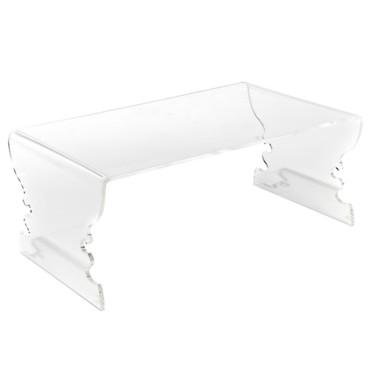 Table basse transparente alinea