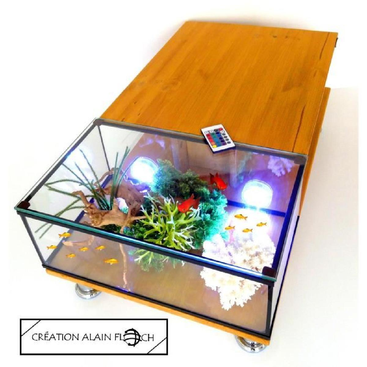 Site table basse aquarium mobilier design d coration d 39 int rieur - Table basse aquarium design ...