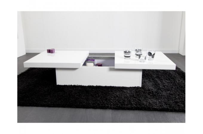 Table basse ovale blanche pas cher mobilier design for Decoration d interieur pas cher