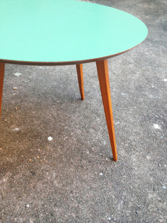 Table basse vintage scandinave pas cher