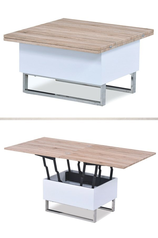 Table basse transformable table haute pas cher mobilier - Table haute pas chere ...