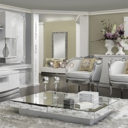 nouveau style 78739 f3e2a Table basse miroir pas cher - Mobilier design, décoration d ...