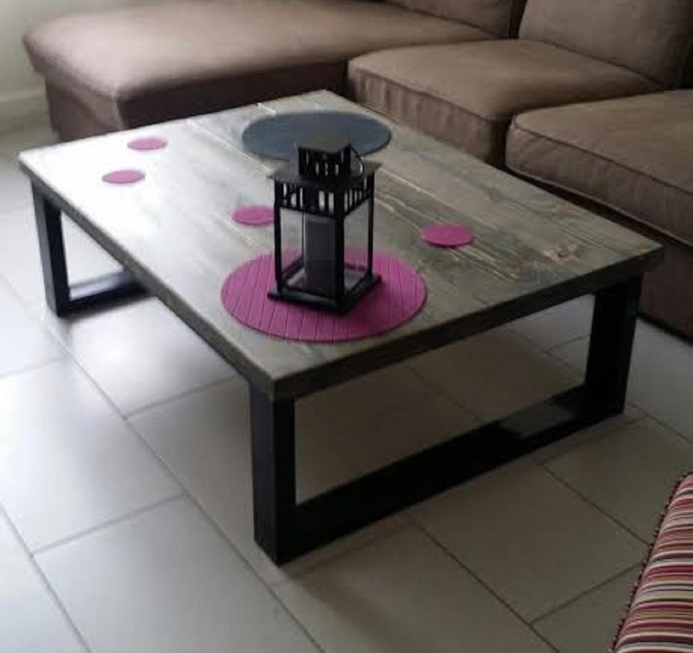 Table basse style industriel pas cher mobilier design for Table style industriel