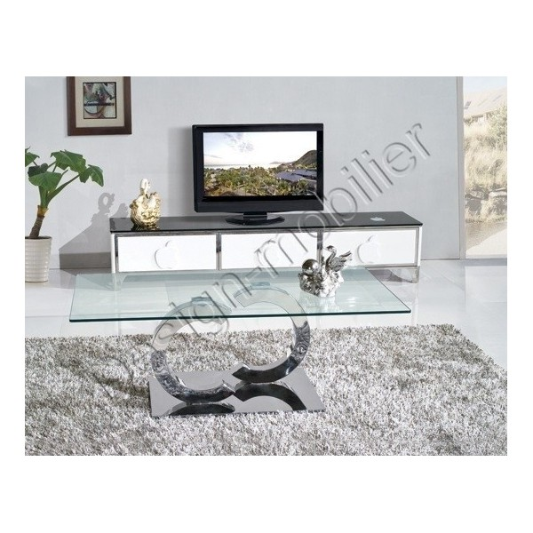 table basse en verre rouge mobilier design d coration d 39 int rieur. Black Bedroom Furniture Sets. Home Design Ideas
