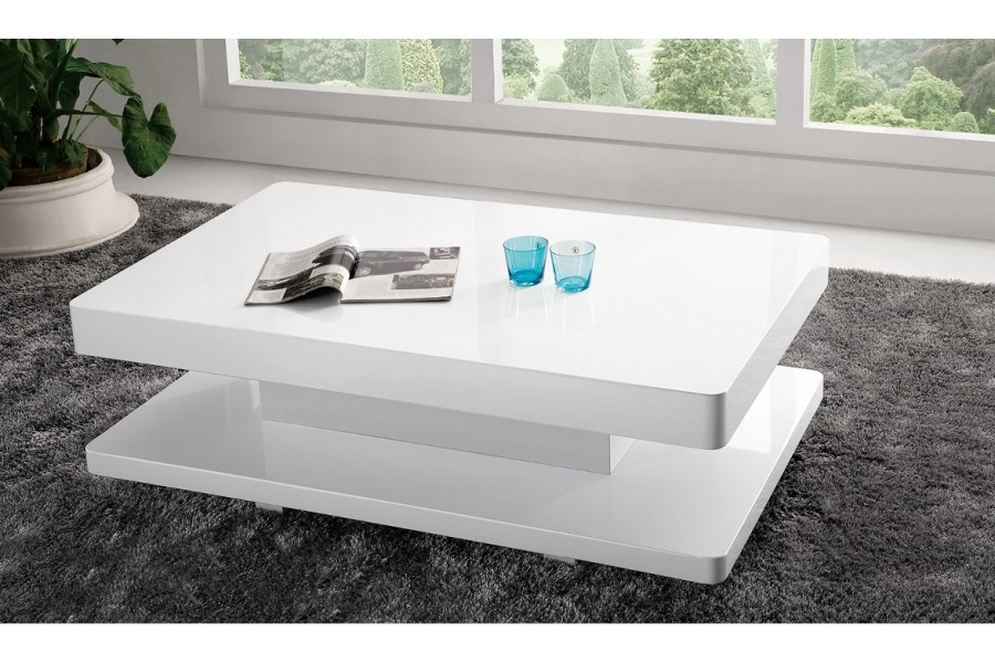 table basse ikea laqu blanc mobilier design d coration. Black Bedroom Furniture Sets. Home Design Ideas