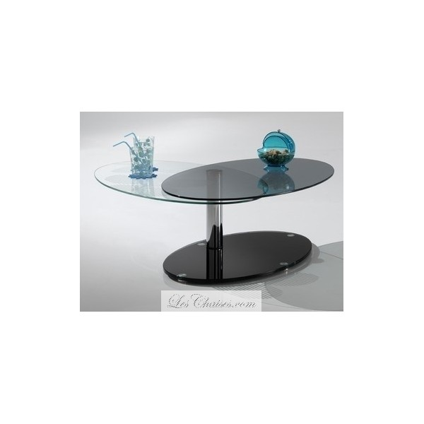 table basse en verre fum noir mobilier design d coration d 39 int rieur. Black Bedroom Furniture Sets. Home Design Ideas