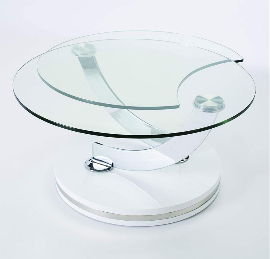 Table Verre Modulable Mobilier D Basse Ronde DesignDécoration n0PkN8wOXZ