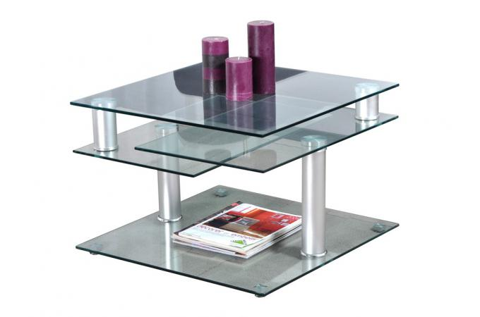 good table basse en verre dino with table basse ipn. Black Bedroom Furniture Sets. Home Design Ideas