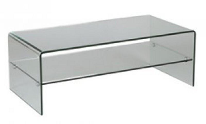 Table basse en verre vera