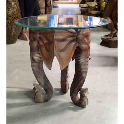 Table basse elephant pas cher